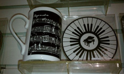 Shoping_ Music peeps on your list_ Do they drink coffee or tea_ Cup coaster sets perfect