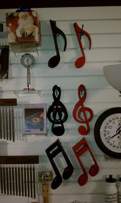 Musicians shop here..