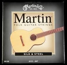 Martin silk steel Guitar Strings