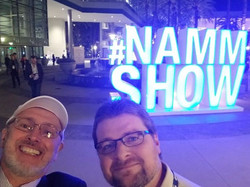Tim and Jason at NAMM