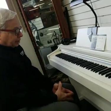 Bobby Nelson Demos the Casio AP270 Celviano Digital Piano.mp4