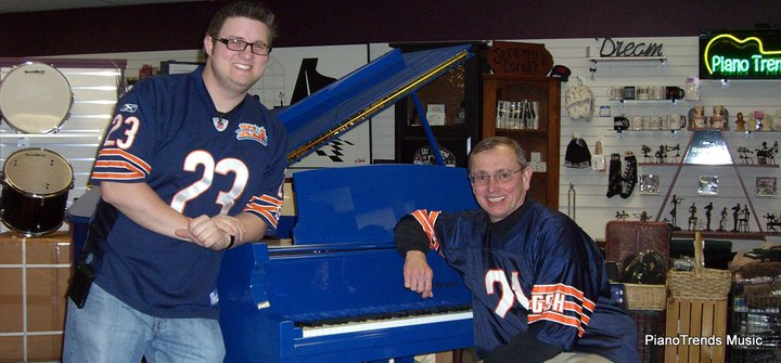 Blue is a Bears Fan! who are those other guys anyway_ Bear Fever! Catch IT