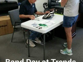 Pictures Say it All on Band Day at Piano Trends