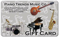 Piano Trends Gift Card