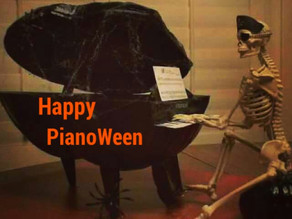 PianoWeen Celebration to Feature GHOST PIANO Oct 29 and 31st at Piano Trends