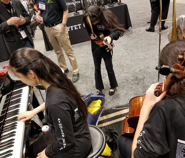 more good times in piano trends at midwest clinic #casiomusicgear  Casio at piano trends