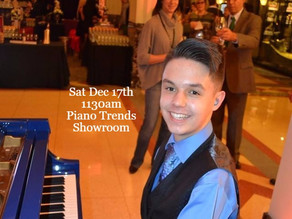 Showroom Performance Series to feature Daniel Souvigny Dec 17 at Piano Trends