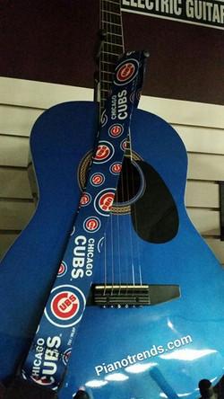 Chicago Cubs Guitar Strap