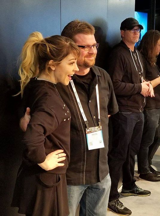 Jason with Lindsey Stirling NAMM 2018