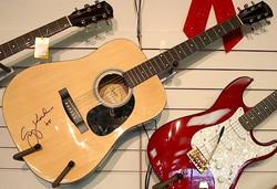 Greg Koch Guitar Signing