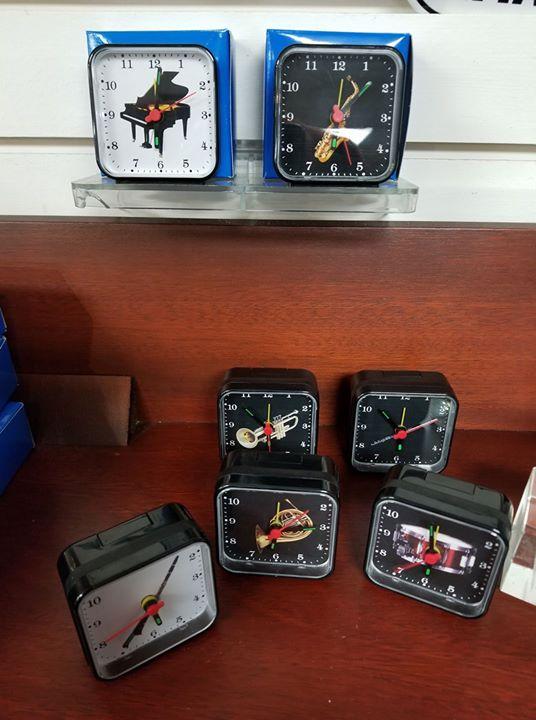 Instrument Themed Alarm Clocks