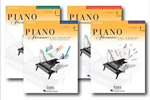 Piano Adventures Level 4