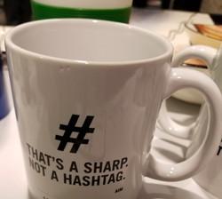 Hashtag Super Sharp Mug