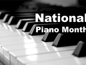 September is National Piano Month