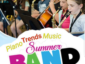 Summer Band Camp at Raue Center
