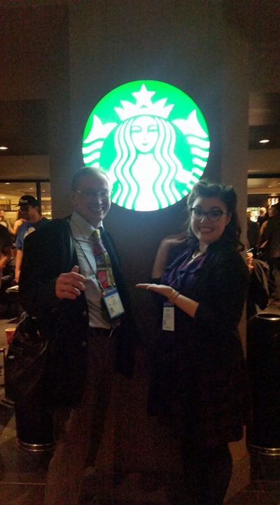 Tim and Jene - Our Starbucks Gal