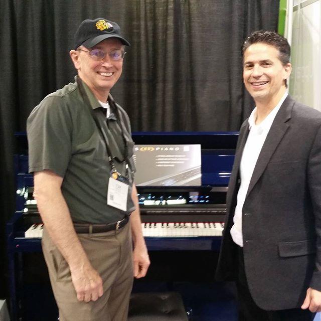 Tim and Gary at NAMM 2016