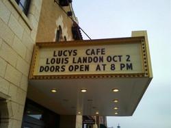 Louis Landon at Raue Center Friday Oct 2__Louis Landon at Piano Trends Sat Oct 3rd__Call 815 477 426