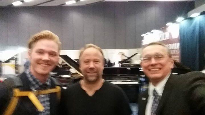 piano Guys Kevin, Joe and Tim at NAM