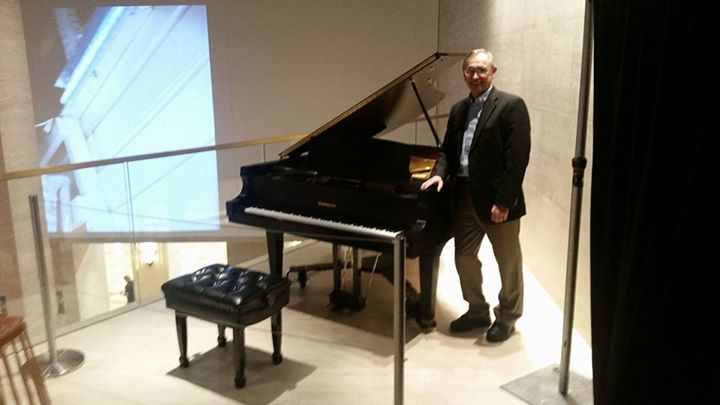 Tim Paul of Piano Trends at Mart