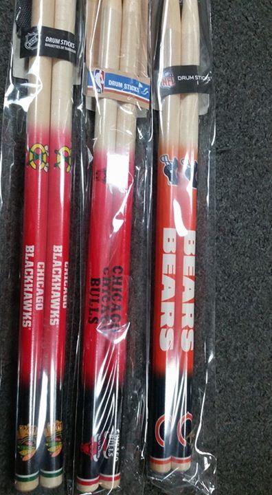 Chicago Team Drumsticks