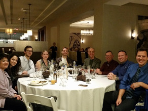 Piano Trends Music & Band Hosts dinner at Illinois Music Teachers Convention