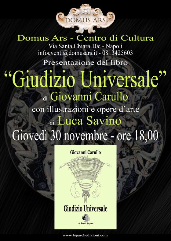"""""""Giudizio Universale"""" al Domus Ars"""