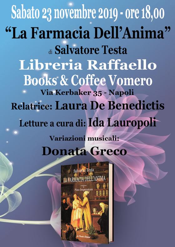 """""""La Farmacia Dell'Anima"""" alla Libreria Raffaello"""