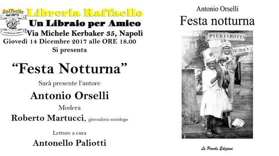 """""""Festa notturna"""" alla Libreria Raffaello"""
