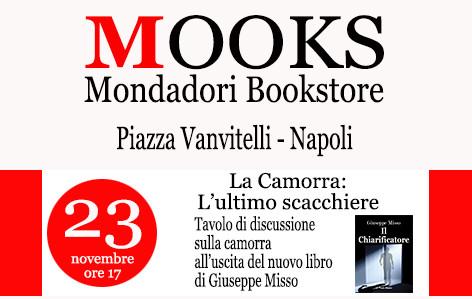 Il Chiarificatore, presentazione al Mooks di Piazza Vanvitelli - Napoli