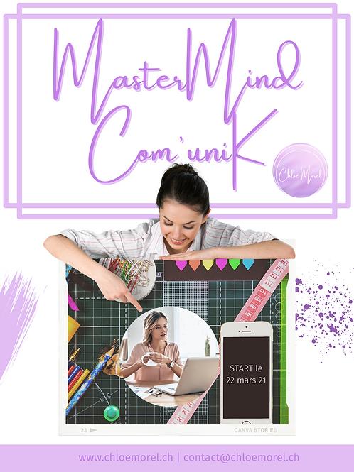 MasterMind Com'uniK dès le 22 mars 21
