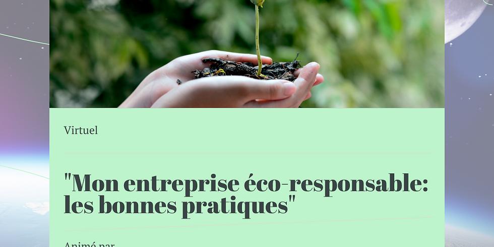"""""""Mon entreprise éco-responsable : Les bonnes pratiques"""""""