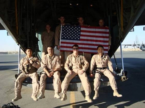 Crew picture. Our deployment was spring/summer 2008.  Photo courtesy of JEREMY MOSELLE, Captain, USAF