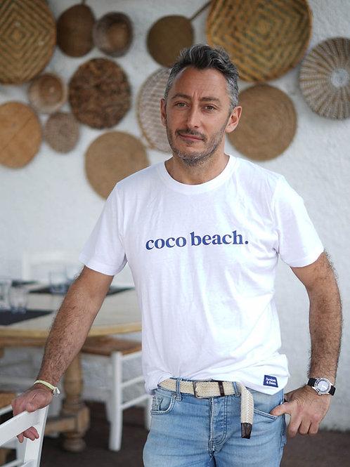 Coco Beach - T-shirt unisexe Blanc