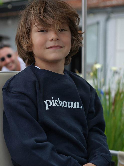 Pichoun - Sweatshirt enfant Marine