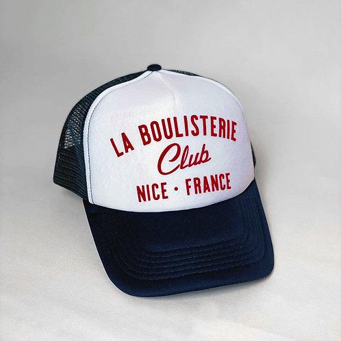 Casquette Trucker La Boulisterie Club - Bleu / Blanc
