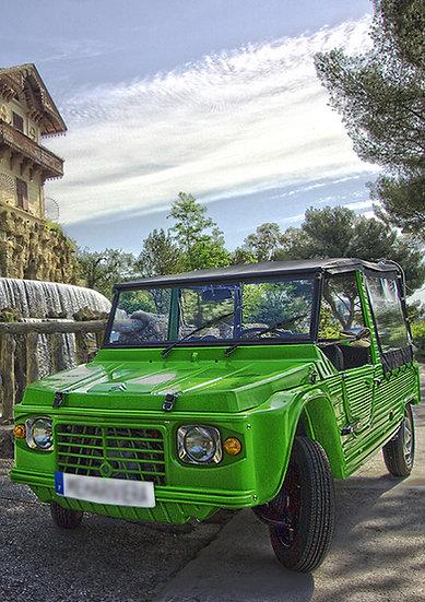 Boule d'Energie - Team building - Rallye automobile Mehari - Nice Cannes Monaco Antibes