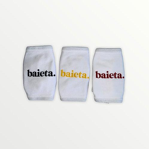 Baieta - Pack de 3 masques blancs adulte