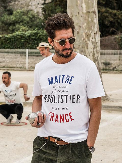 """T-shirt """"Maître Boulistier"""" - Jack & Jones x La Boulisterie"""