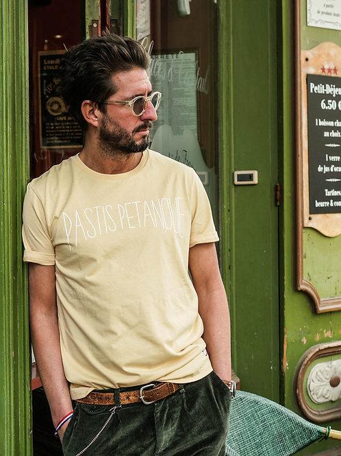 T-shirt Pastis Pétanque Jaune - Jack & Jones x La Boulisterie