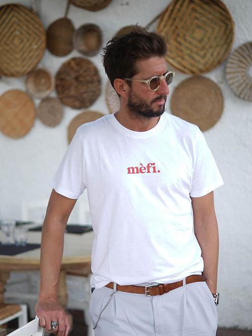 Mèfi - T-shirt unisexe Blanc