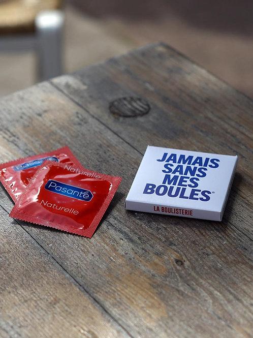 La doublette de préservatifs - Jamais sans mes boules