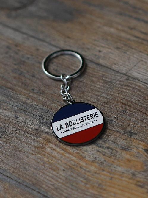 Porte clés métal - Maître Boulistier