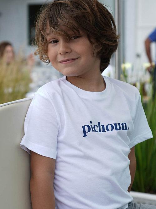 Pichoun - T-shirt enfant Blanc