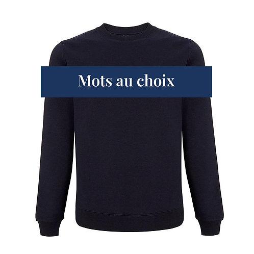 Sweatshirt unisexe à personnaliser   Mots Niçois