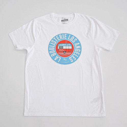 La Boulisterie Los Angeles T-shirt petanque col rond grammage lourd