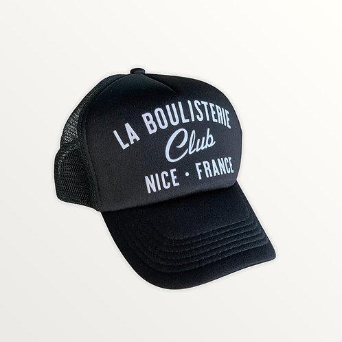 Casquette Trucker La Boulisterie Club - Noir / Blanc