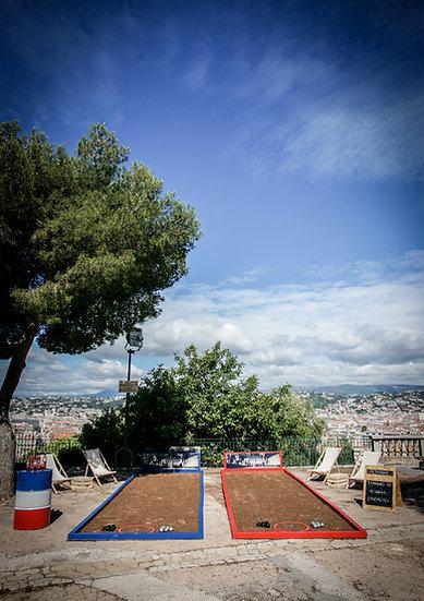 Team Building Terrain de petanque ephemere Nice Cannes Antibes Saint Tropez Monaco Cote d'Azur