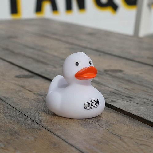 Canard de bain plastique La Boulisterie Blanc