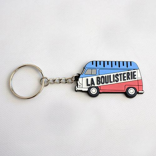 Porte Clés tricolore Estafette Bleu Blanc Rouge La Boulisterie
